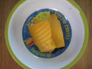Finom és egyszerű sajttekercs
